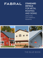 standard details for metal roofing and siding the blue book - Fabral