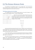 Lesson 8.4: Distance Between Points