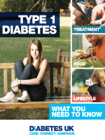 Type 1 diabetes – What you need to know - Diabetes UK