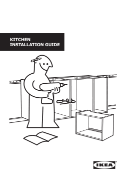 Kitchen installation guide - Ikea