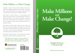 Make Millions Make Change! - eBooks4free.net