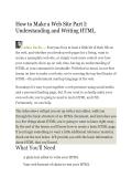 How To Make A Website - toasterdog
