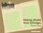 Making eBooks from InDesign, Part 1 - CreativePro.com