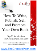 How To Write, Publish, Sell and Promote Your Own Book
