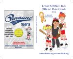 2014 Dixie Softball Rule Book.pdf - Dixie Youth Baseball