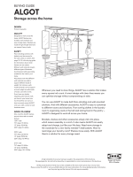 ALGOT buying guide - Ikea