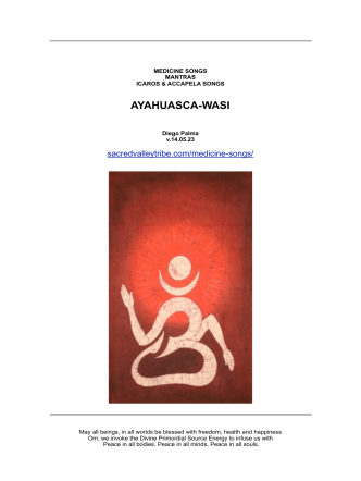 Canciones de medicina - Ayahuasca-Wasi