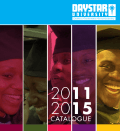 CATALOGUE - Daystar University