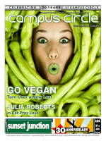GO VEGAN - Campus Circle