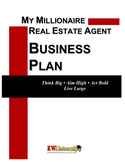 My MREA Business Plan v3.2.pdf - Keller Williams Realty