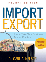 Import/export : How to Take Your Business Across - California CITD