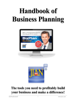 Handbook of Business Planning.pdf - JIAN Business plan software