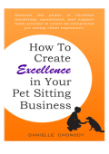 Download the Digital Book Here! - APSE Association of Pet Sitting