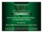 How to Write a Winning Business Plan… - Office of the City