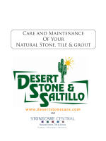 Care and Maintenance Of Your Natural Stone, tile grout