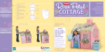 PLAYSKOOL DREAM TOWN ROSE PETAL Cottage Instructions