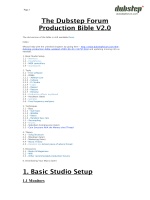 The Dubstep Forum Production Bible V2.0.pages - GuidesDuweb.com