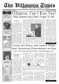 Villanova: Can I Kiss You? - The Date Safe Project