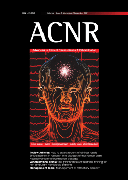 Review Articles: How to assess reports of clinical results - ACNR