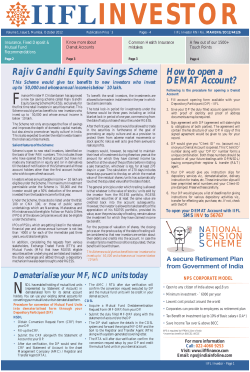 Rajiv Gandhi Equity Savings Scheme How to open a DEMAT