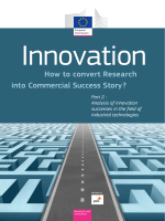 into Commercial Success Story ? How to convert Research