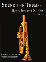 Sound the Trumpet: How to Blow Your Own Horn - Sol-Ut Press