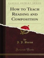 How to Teach Reading and Composition - Forgotten Books