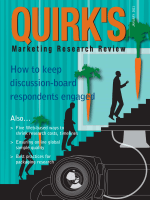 How to keep discussion-board respondents engaged - Quirks