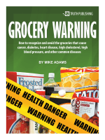 How to recognize and avoid the groceries that cause cancer