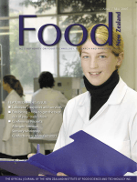 FEATURED IN THIS ISSUE: Laboratory supplies and - NZIFST