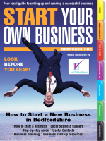 How to Start a New Business in Bedfordshire - Start Your Own