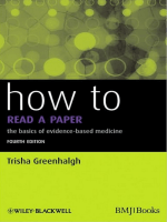How to Read a Paper: The Basics of Evidence-Based - Yimg