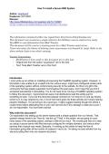 How To Install a Secure BSD System Author - Munyak.com
