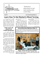 Learn How To Get Started In Wood Turning - Woodworkers Guild of