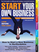 How to Start a New Business in Hertfordshire - Start Your Own
