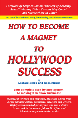 How To Become A Magnet - Acting Career and Success in Hollywood