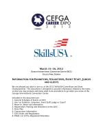 Expo and Skills How To for Industry - CEFGA