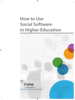 How to Use Social Software in Higher Education