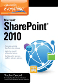 How to Do Everything Microsoft SharePoint 2010 - tgestiona