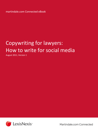 Copywriting for lawyers: How to write for social media