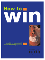 How to win - Friends of the Earth
