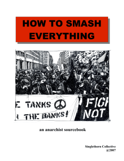HOW TO SMASH EVERYTHING - zinelibrary.info
