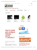 How to install and configure Webdav ubuntu 11.04/mint11 - Eagos