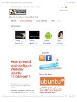 How to install and configure Webdav ubuntu 11.04/mint11 - Eagos
