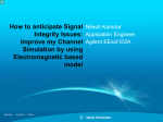 How to Anticipate Signal Integrity Issues - Keysight Technologies