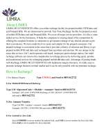 About LIMRA How to Recharge? - Limra Multi Services