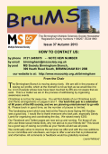 HOW TO CONTACT US: - Multiple Sclerosis Society