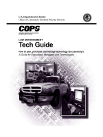 Law Enforcement Tech Guide: How to plan, purchase - COPS Office