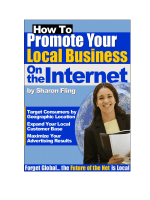 How To Promote Your Local Business on the Internet