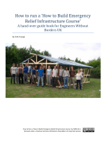 How to Build Emergency Relief Infrastructure - Engineers Without